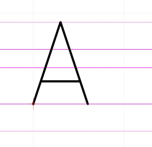 QCAD - Tutorial: Editing CXF Fonts